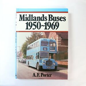 Midland Buses in the 1950's and 1960's by A. Porter (Hardcover, 1985) bus book