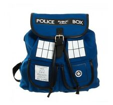 Sac a dos OFFICIAL DOCTOR WHO TARDIS SLOUCH BACKPACK/ KNAPSACK Cartable Hipster