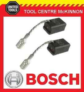 GENUINE BOSCH 1619P02870 CARBON BRUSHES – SUIT GWS 7-100 7-125 ETC