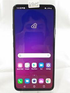 "LG V40 ThinQ LM-V405 64GB Sprint Wireless ONLY Smart Cellphone 6.4"" Black U945"