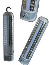 LAMPADA EMERGENZA 24 LED SMD CON NEON RICARICABILE PER CASA AUTO CAMPER