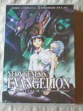 DVD ANIME NEON GENESIS EVANGELION ED PLATINUM COMPLETA 6 DVD 30 EPISODIOS NUEVO