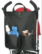 Cochecito Cochecito Cochecito Bolsa de carga (Negro) para bebé niños niños de la compra de almacenamiento de información