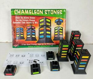 Chameleon Stones Strategic Memory Family Game Complete