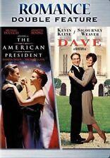 The American President / Dave 2 DVD R1 Michael Douglas Kevin Kline