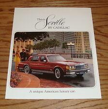 Original 1977 Cadillac Seville Sales Brochure 77