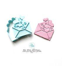 San Valentino Love Lettera Con Cuoricini Formine Per Biscotti Cookie Cutter