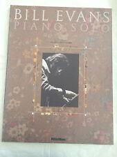 Bill Evans Piano Solos