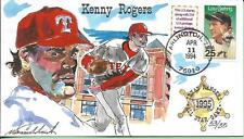WILD HORSE HP TEXAS RANGERS KENNY ROGERS FIRST GAME AT THE BALLPARK Sc 2417