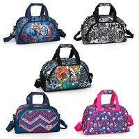 Sports Gym Travel Bag Duffle Holdall Ladies Men Cabin Luggage Maternity Graffiti