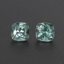 . Natural 4.50 CtParaiba Copper Bearing Green Tourmaline Pair Certified Gemstone