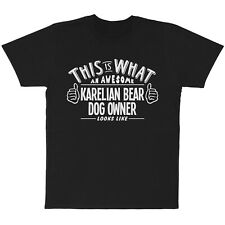 This Is What An Awesome Karelian Bear Dog Owner Looks Like T-Shirt