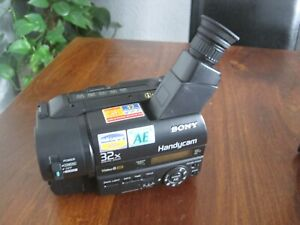 SONY HANDYCAM CCD-TR411E CAMCORDER ANALOG VIDEO-8 XR VIDEO ANALOG 8MM TAPE