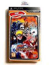 Naruto Shippuden Kizuna Drive PAL/POR PSP Nuevo Precintado Sealed New PAL/SPA