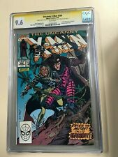 Uncanny X-Men #266 CGC 9.6 SS Signed & Sketched Andy Kubert Claremont 1st Gambit