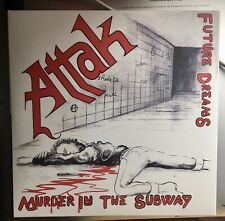 """ATTAK :: """"Murder in the Subway"""" . 7"""" WHITE Vinyl EP . Rebellion . mint"""
