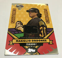 Magglio Ordonez Detroit Tigers 2006 Topps Update All-Star Stitches AS-MO jersey