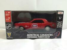 NHL MONTREAL CANADIENS 1:43 SCALE DIECAST 1964 FORD MUSTANG CENTENNIAL RACER