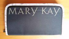 Mary Kay Wallet, purse, wallet, handbag black with pink trim, zipped zipper