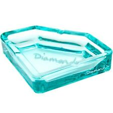 New Authentic $100 Diamond Supply Co Fashion Glass Ashtray Diamond Blue