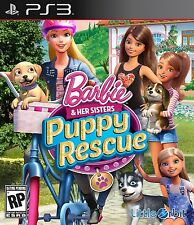 *NEW* Barbie & Her Sisters: Puppy Rescue - PS3