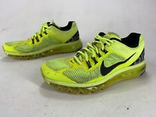 Mens Primo Distressed Nike Air Max 2012 Volt Neon Shoes Size 11.5 554886 701