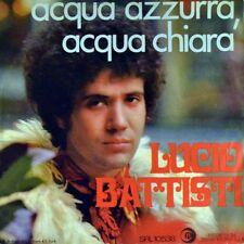 """7"""" LUCIO BATTISTI ACQUA AZZURRA ACQUA CHIARA MOGOL cantautore RICORDI ITALY 1969"""