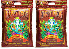 Fox Farm 590016 12qt Happy Frog Potting Soil 2pk