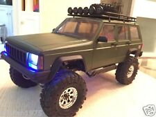 Jeep Cherokee 1/10 313mm Scale Hard Plastic Body Shell for Axial Scx10 Nib