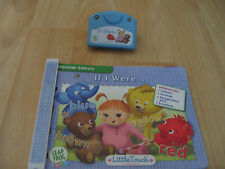 Leap Frog Baby Little Touch Leap Pad IF I WERE Book & Cartridge