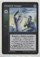 2006 Vampire: The Eternal Struggle - Third Edition Fiendish Tongue Card 1i3