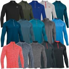 Under Armour 2017 UA Tech Zip Workout Layer Long Sleeve Top Training Gym Shirt