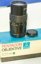 2x Pentacon 200mm f4 + Pentacon 135mm f2,8 mc, M42 in original box