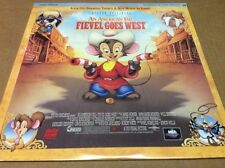 An American Tail 2: Fievel Goes West Laserdisc (1991) [41067] SEALED BRAND NEW