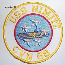 US.Navy Aircraft Carrier `USS NIMITZ` Cloth Patch /Badge (USN-2)