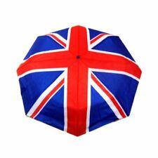 Union Jack British Flag Compact Folding Umbrella Brolly - London Sovenir