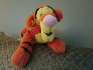 "VINTAGE & COLLECTIABLE-Tigger Plush 14"" Walt Disney Stuffed Animal"