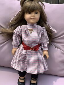 Pleasant Company White Body Original Samantha American Girl Doll Germany Dress