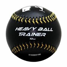 Franklin MLB Heavy Ball Trainer Weighted Baseball Black 10oz for Train_Nk
