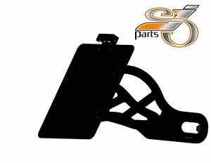 Indian Scout Side Mounting Number Plate Holder Year 2015- with Lighting