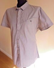 FFP Fit For Purpose Mens Short Sleeve Stripe Shirt Size XL