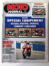 N°1048 MOTO JOURNAL; GP de France vitesse/  Dossier Spécial Equipement/ Honda