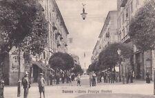 * SAVONA - Corso Principe Amedeo 1917