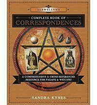 Complete Book of Correspondences Reference Book ~ Wiccan Pagan Metaphysical