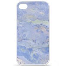 Coque Housse à motif iPhone 4 / 4s Produit qualité française - Marbre bleu