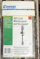 Viessmann 211071 Licht-Blocksignal mit Vorsignal DB Bausatz, LED-Licht,neuwertig