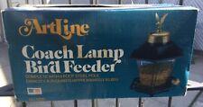 Bird Feeder Artline Coach Lamp No. 6200 Vintage New in box