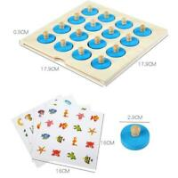 Kids Educational Puzzle Sets Montessori Wooden Toys For Baby Learning Early I6U9