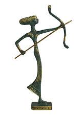 Diana Bronze mini statue - Greek Goddess of Hunt - Artemis Mistress of Animals