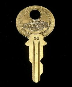 OEM Ignition Switch KEY #38 from Briggs & Stratton Series #31-54 1920's CHANDLER